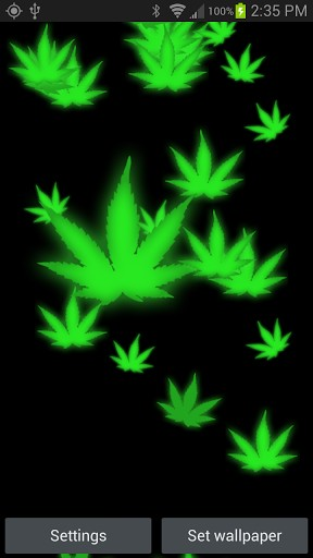 3D Marijuana Wallpapers