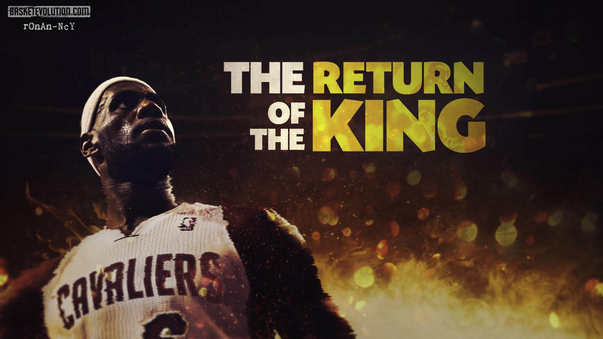Wallpapers LeBron James Return Cavaliers 2014 Wallpaper 1920x1080