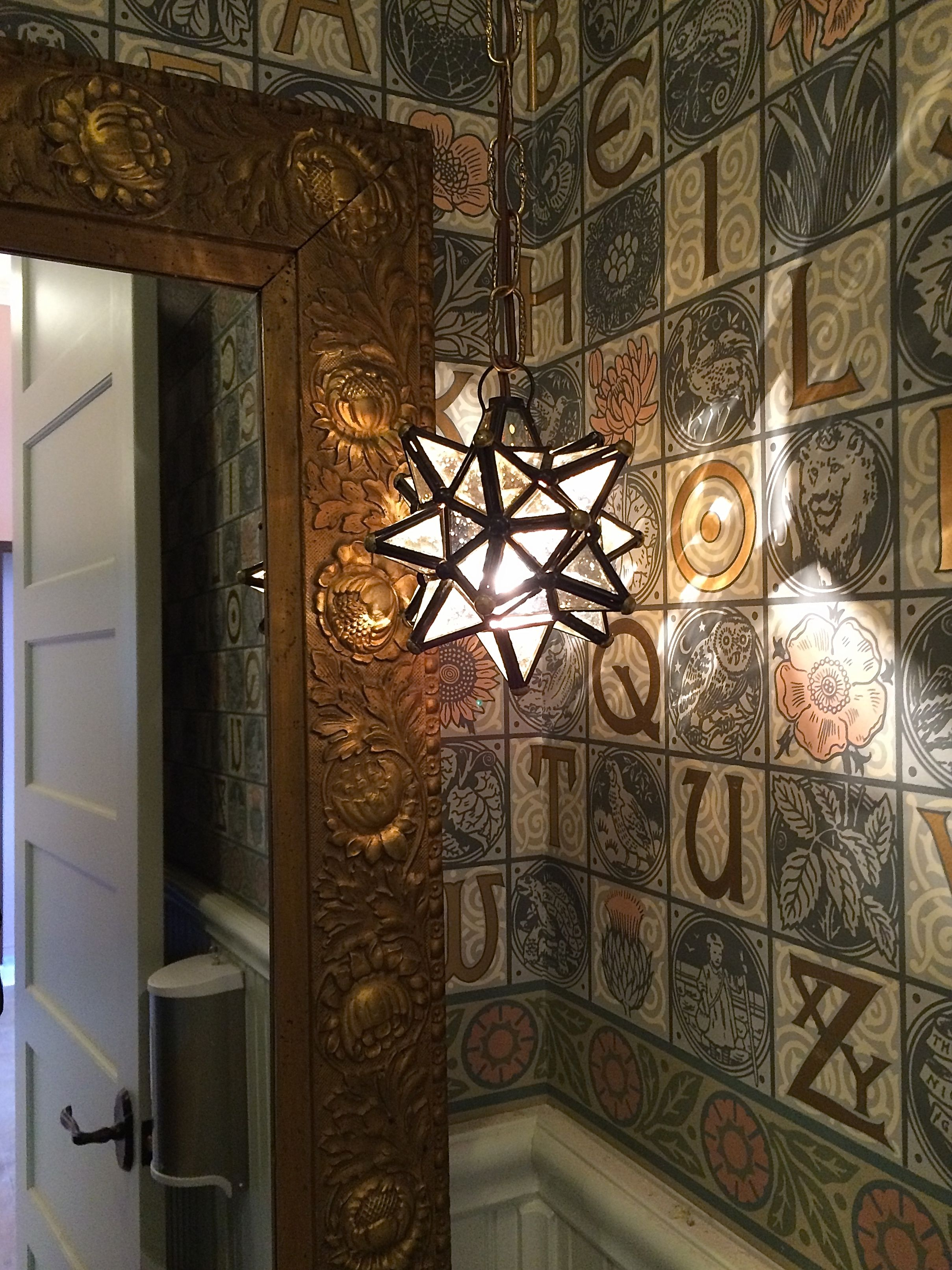 Star light Aesthetic Movement mirror and A Childs Garden 2417x3222