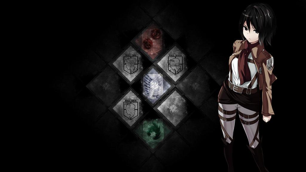 Attack on Titan Wallpaper by QuasiXi 1024x576