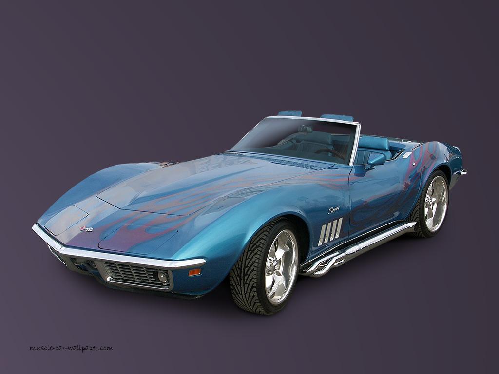 wallpapercommfrGMCorvette1969 corvette convertible wallpaper blue 1024x768