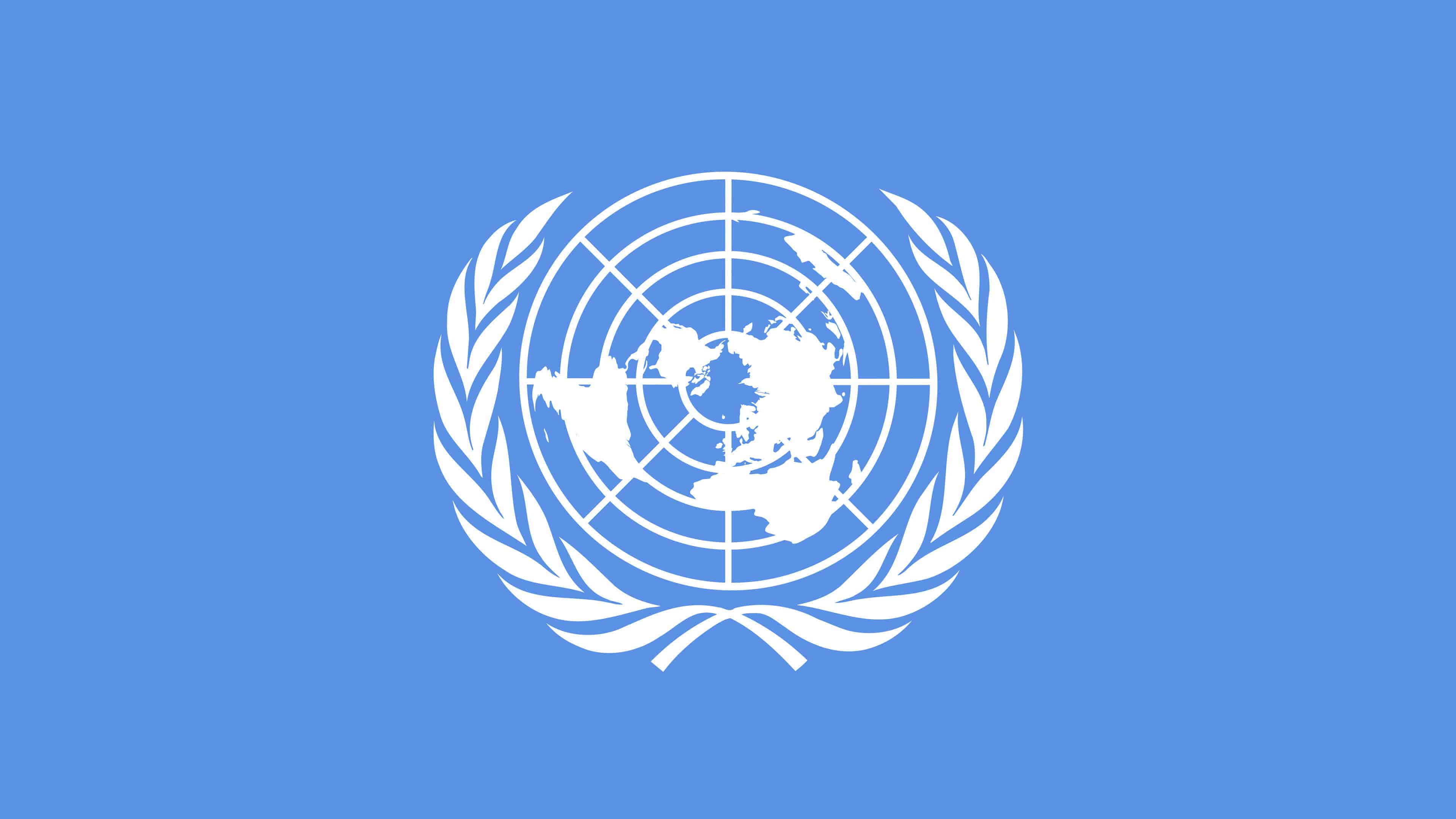 United Nations Logo UHD 4K Wallpaper Pixelz 3840x2160