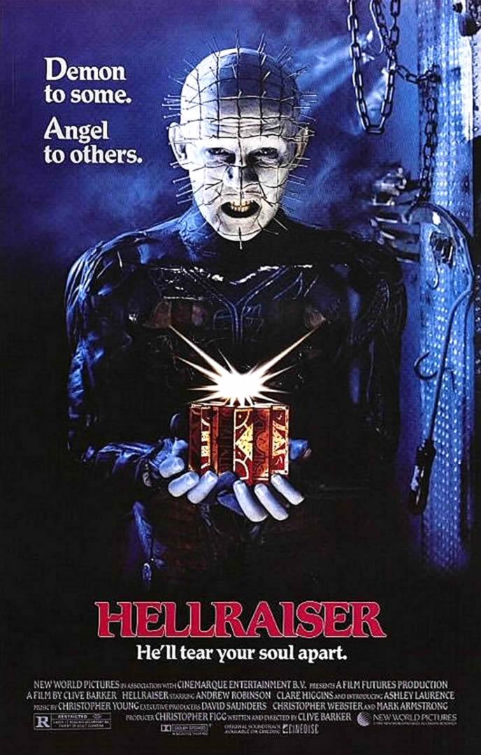 HELLRAISER   Horror B Movie Posters Wallpaper Image 688x1080