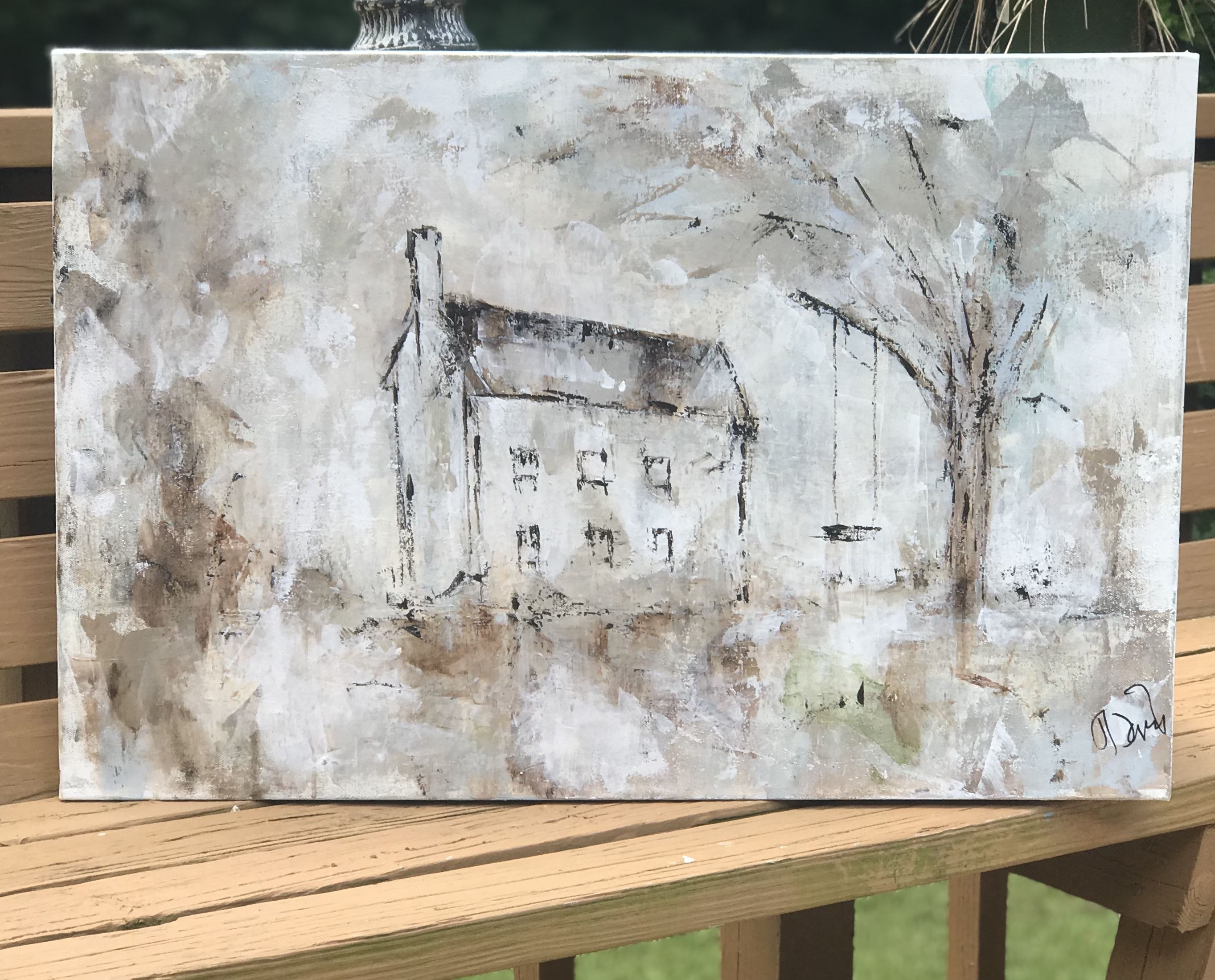 Jdavisart farmhouse Art in 2019 Painting Art Canvas 2726x2199