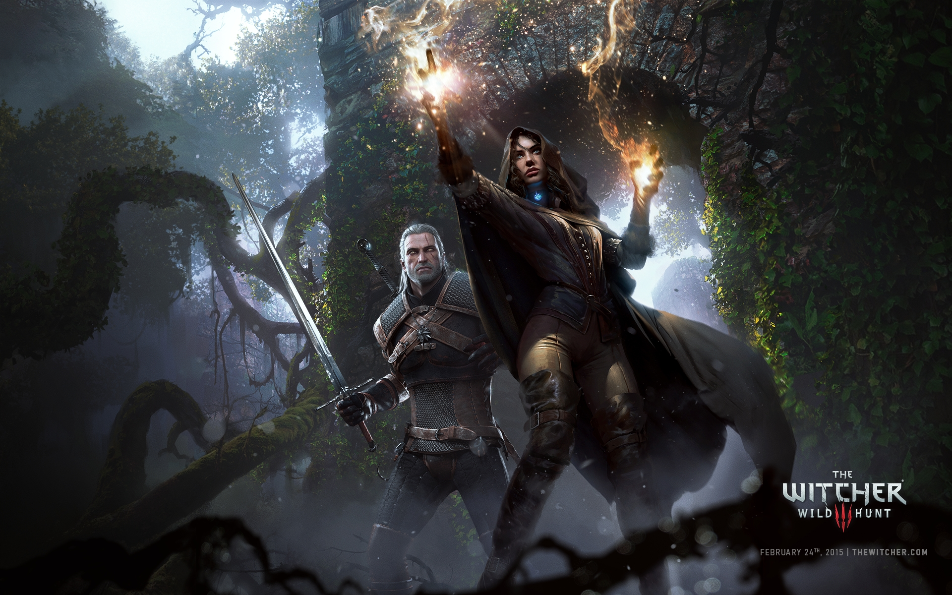 Free Download The Witcher 3 Wild Hunt Video Game 2015 Hd Wallpaper