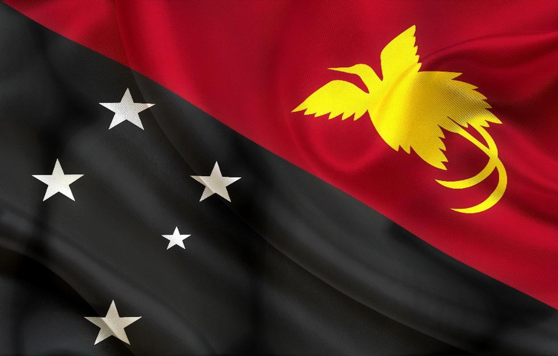 Wallpaper Red White Flag Black Texture Yellow Stars Flag 1332x850