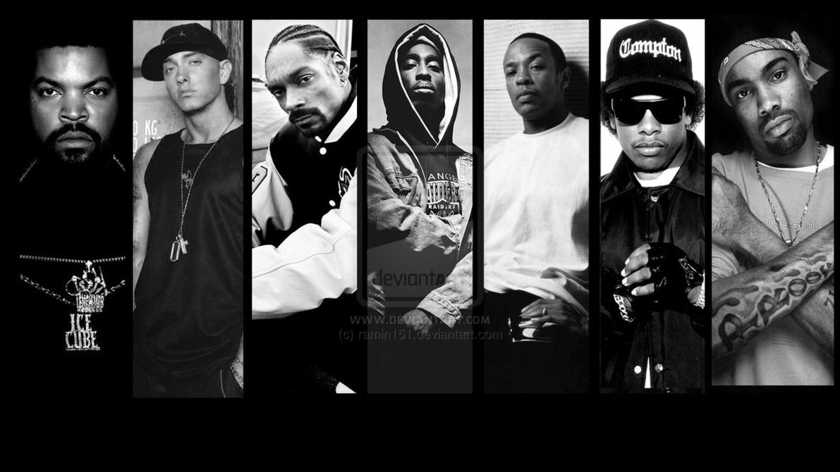 Rappers Wallpaper Hd 90s rap wallpaper by ramin151 1191x670