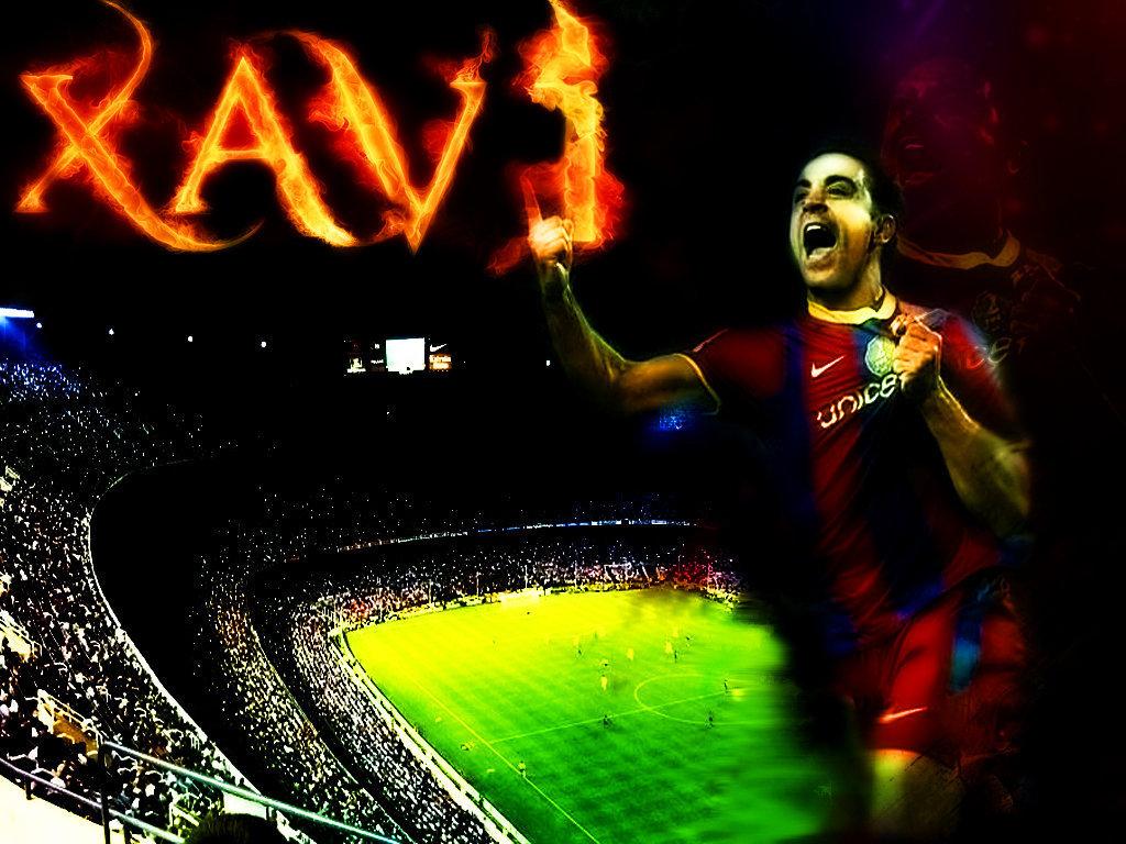 Xavi FC Barcelona Wallpaper   Xavi Hernandez Wallpaper 22601218 1024x768