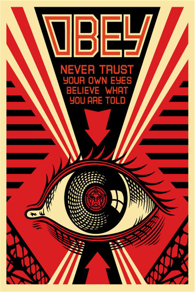 Obey Wallpaper For Iphone 640x960 iPhone Wallpaper Gallery 640x960