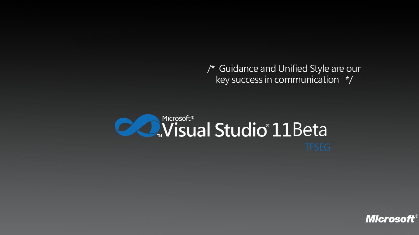 Visual Studio Logo Wallpaper 1366x768