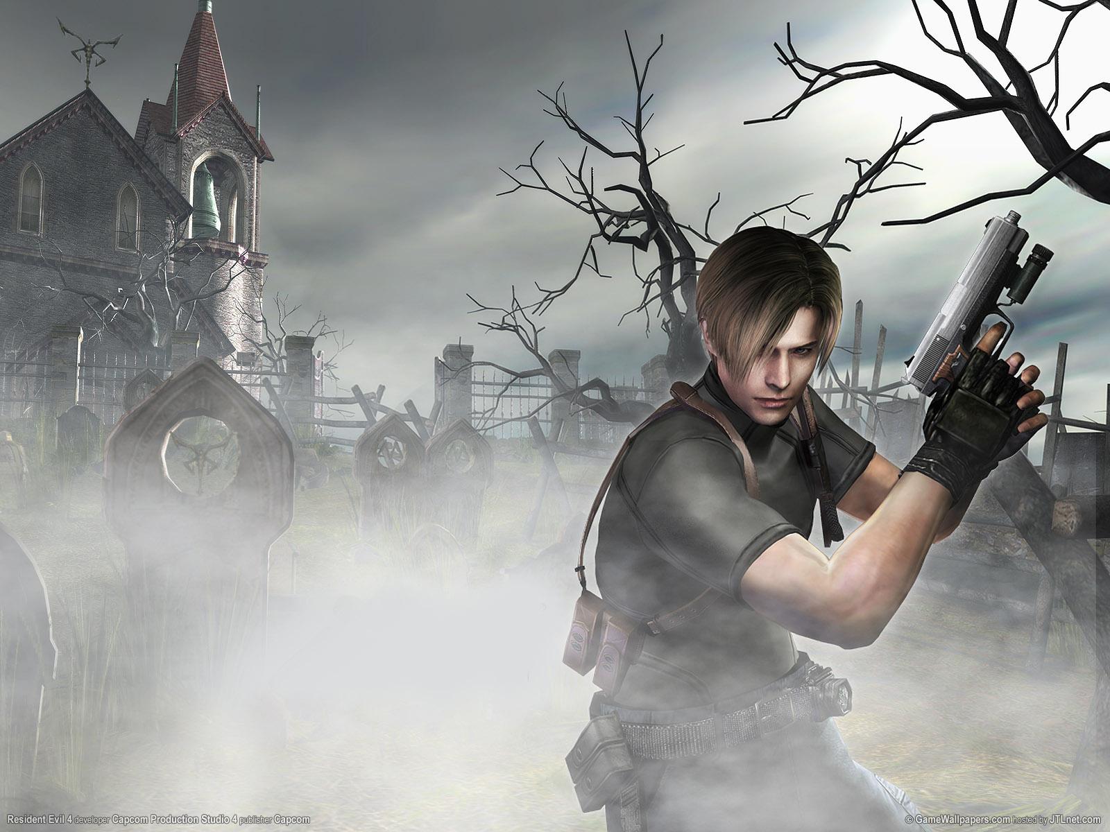 49 Resident Evil 4 Wallpaper On Wallpapersafari