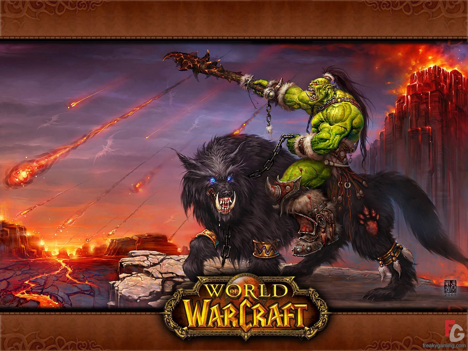 Awesome Orc wallpaper 1600x1200