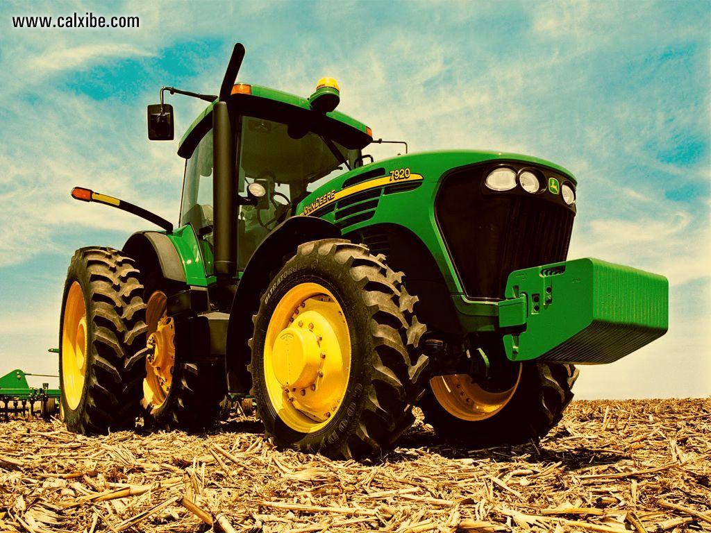 John Deere Tractor Wallpaper 1024x768