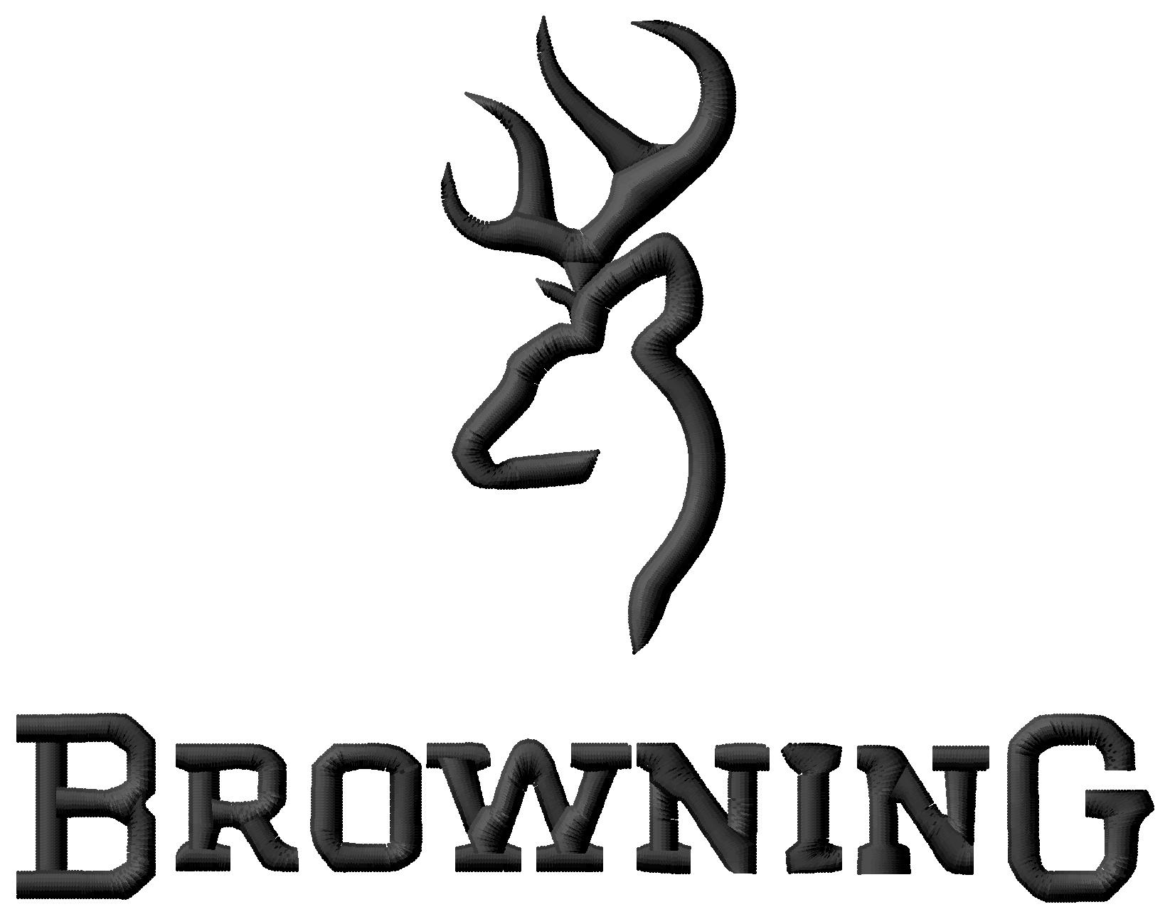 Browning Logo Wallpaper Browning logo embroidery 1645x1293