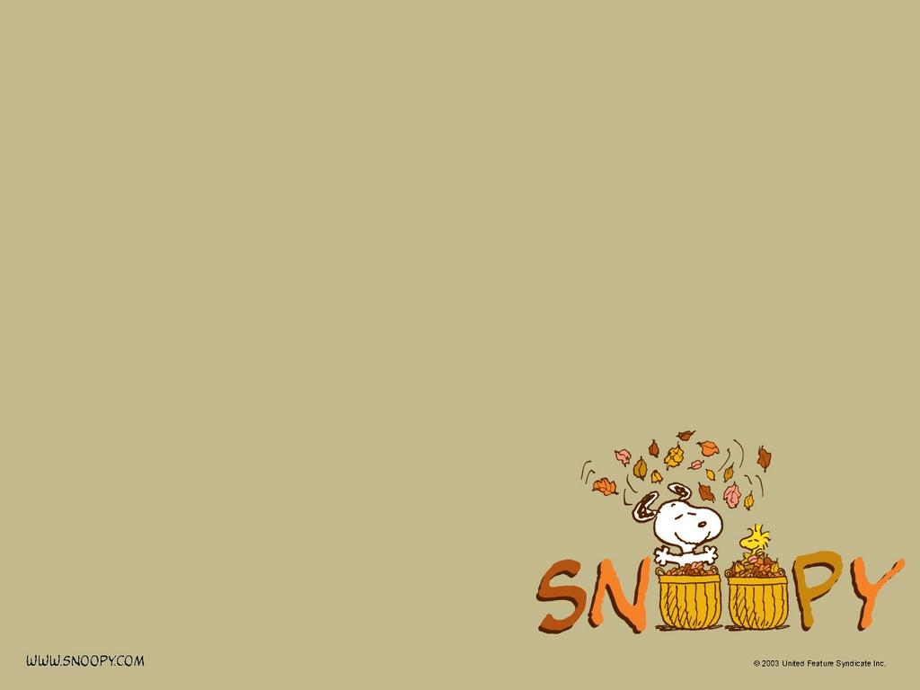 Wallpaper Snoopy en otop 1024x768