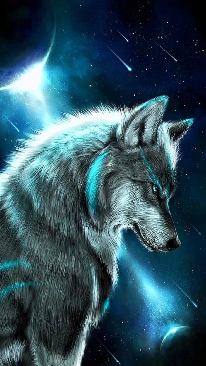 Wolf Girl Wallpapers Zedge   Wolf WallpapersPro 704x1252