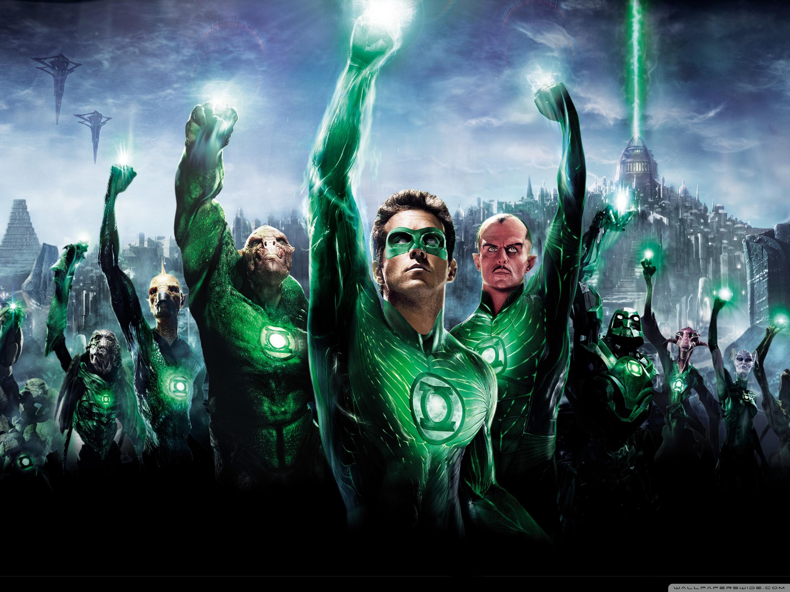 Green Lantern Movie 2011 4K HD Desktop Wallpaper for 4K Ultra 2560x1920