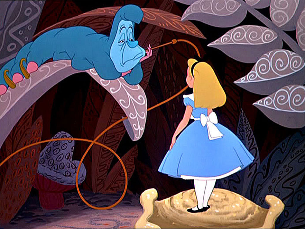 49 Alice In Wonderland Caterpillar Wallpaper On Wallpapersafari
