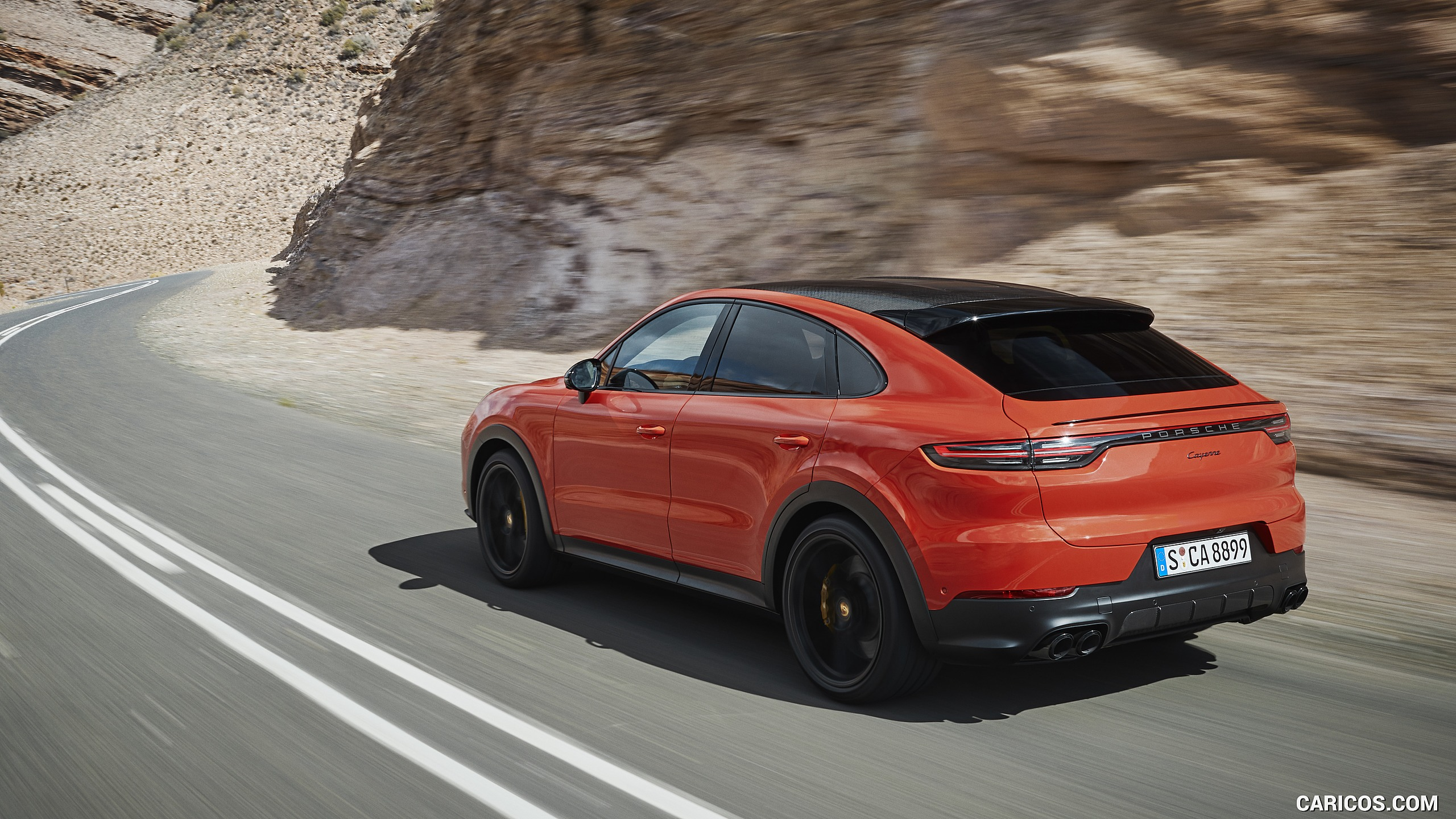 2020 Porsche Cayenne Coupe   Rear Three Quarter HD Wallpaper 4 2560x1440