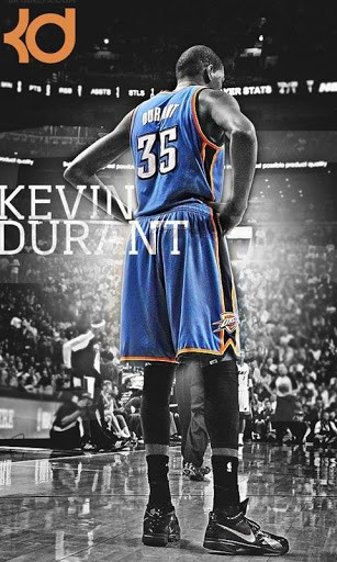 Download Kevin Durant HD Wallpaper For Android By Rahul Nair 307x512
