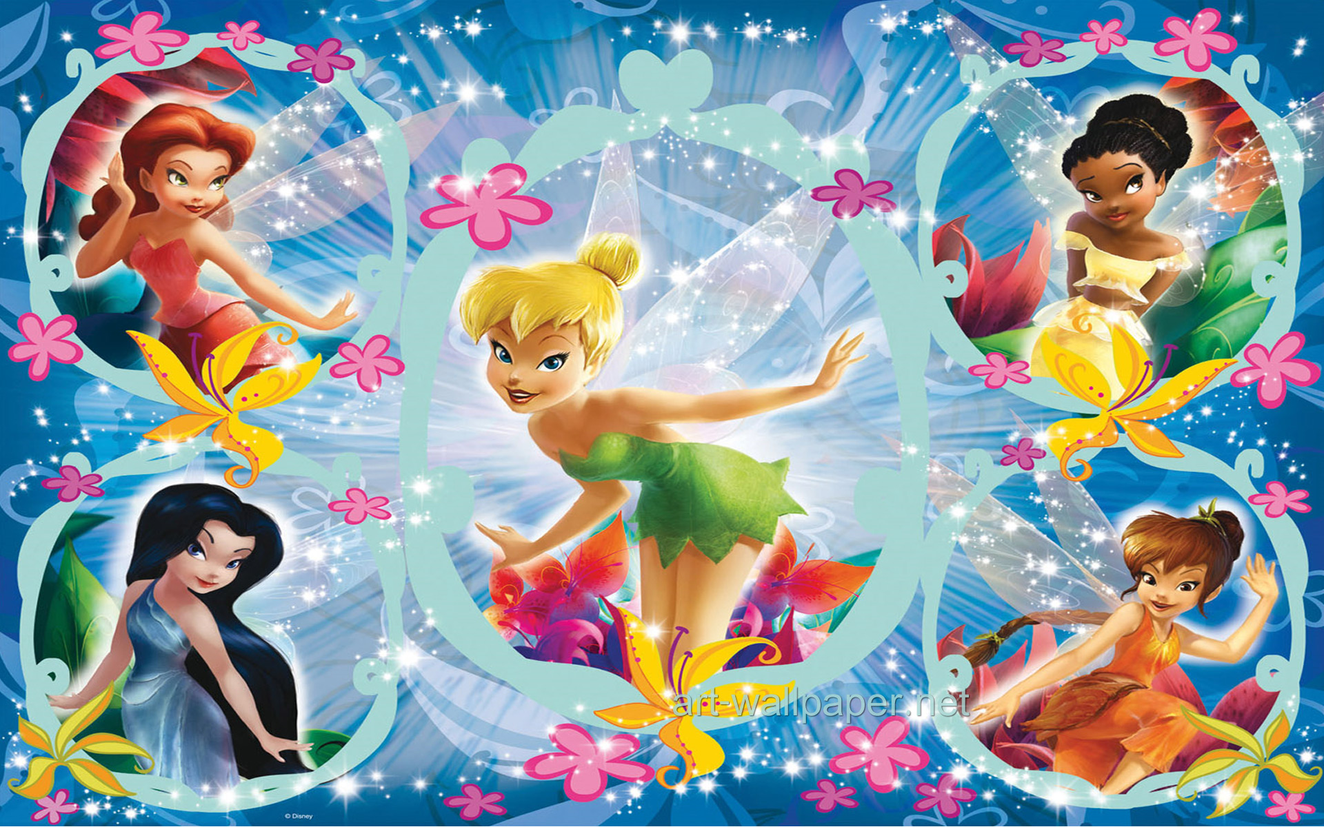 Tinkerbell Wallpaper Tinkerbell Wallpapers Art 1920x1200