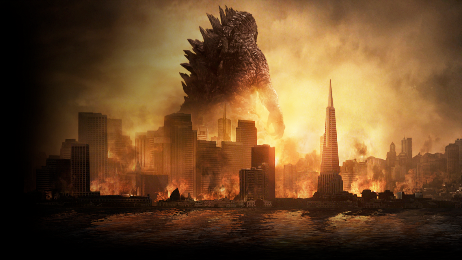 FICTION Godzilla International Trailer 2014 and Desktop Wallpaper 2 1600x900