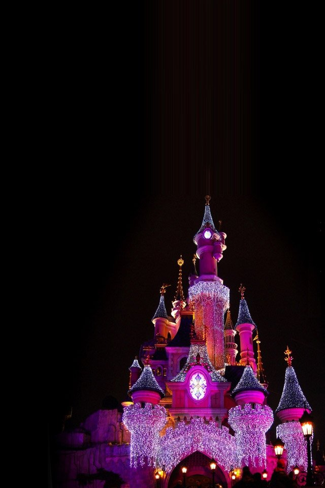 43 Disney Castle Iphone Wallpaper On Wallpapersafari