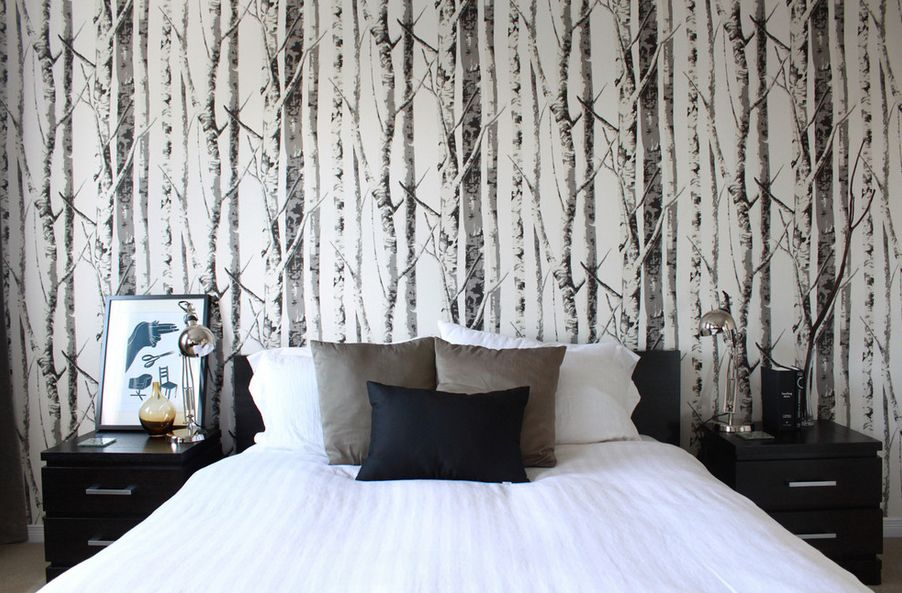 Nature Depicted On Your Walls Birch Tree Wallpaper 902x593