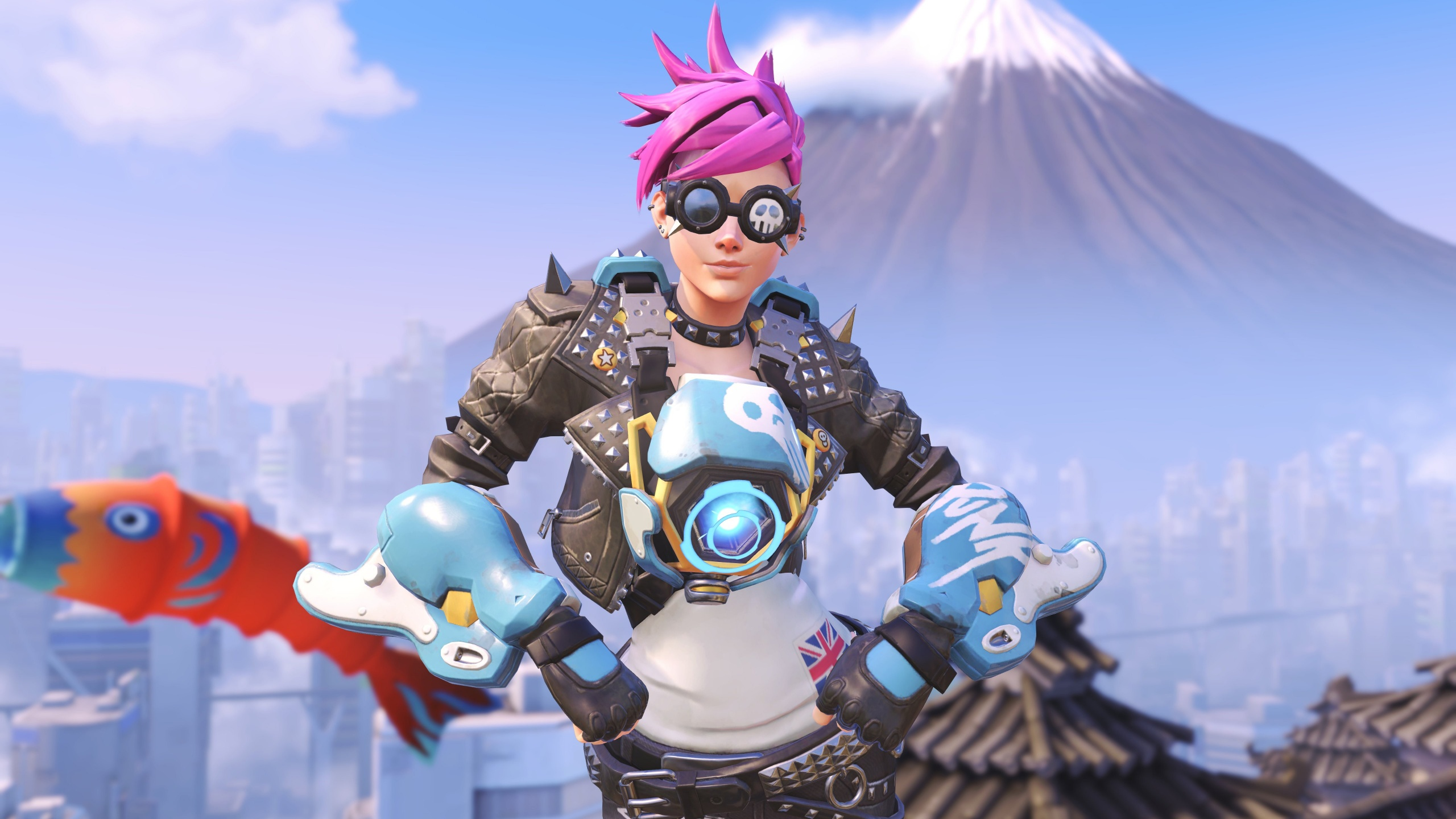 Tracer Overwatch 4K 5K Wallpapers HD Wallpapers 2560x1440