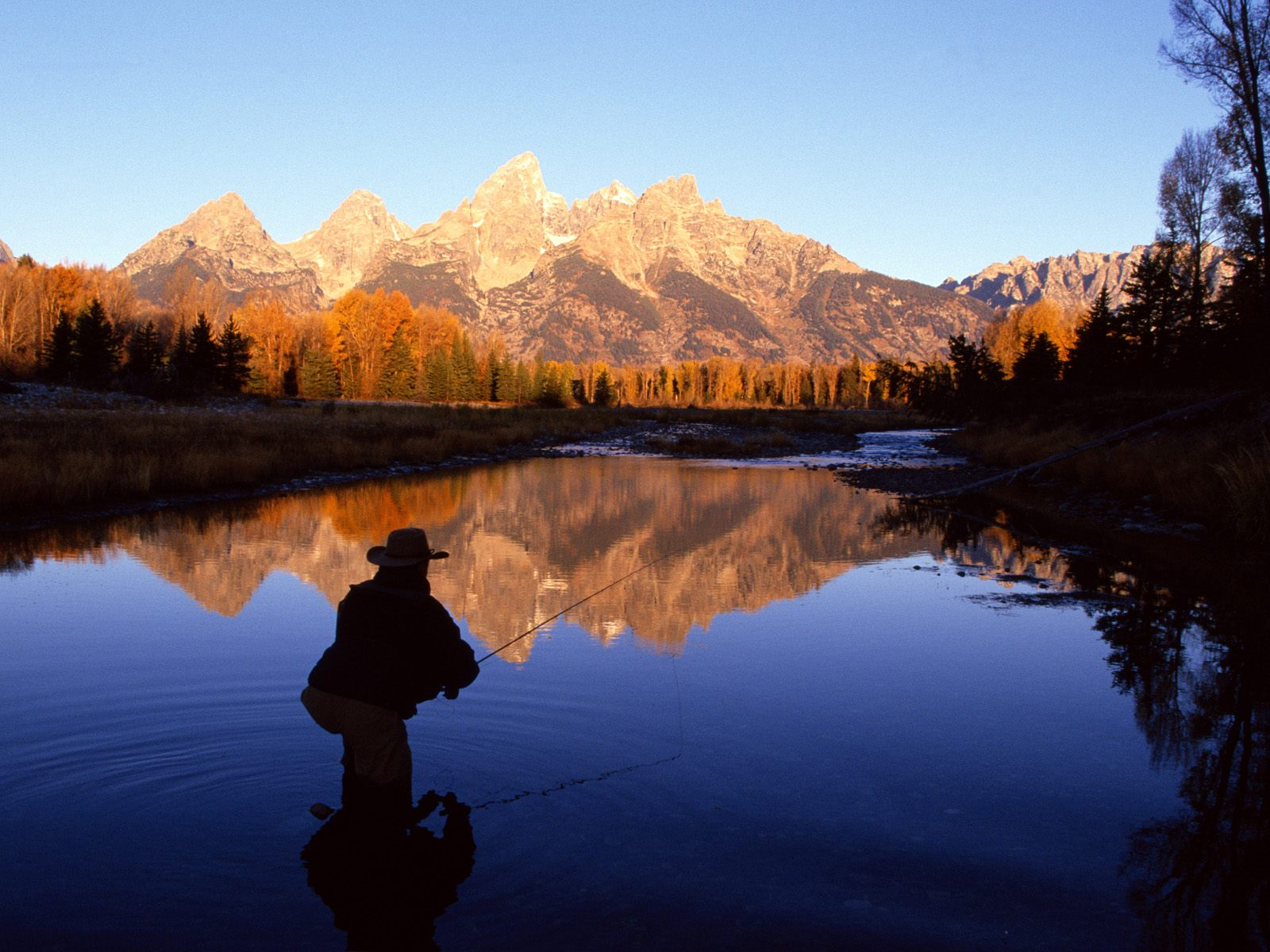 Fly Fishing the Snake River Wyoming 1600x1200