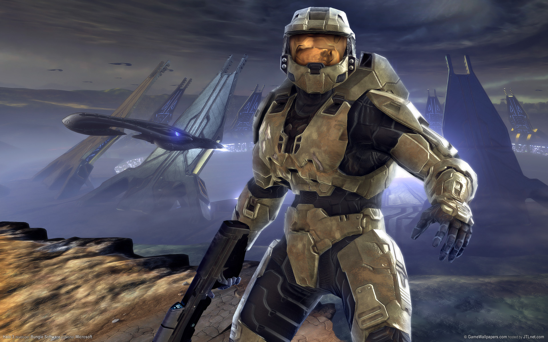 47 Halo 3 Desktop Backgrounds On Wallpapersafari
