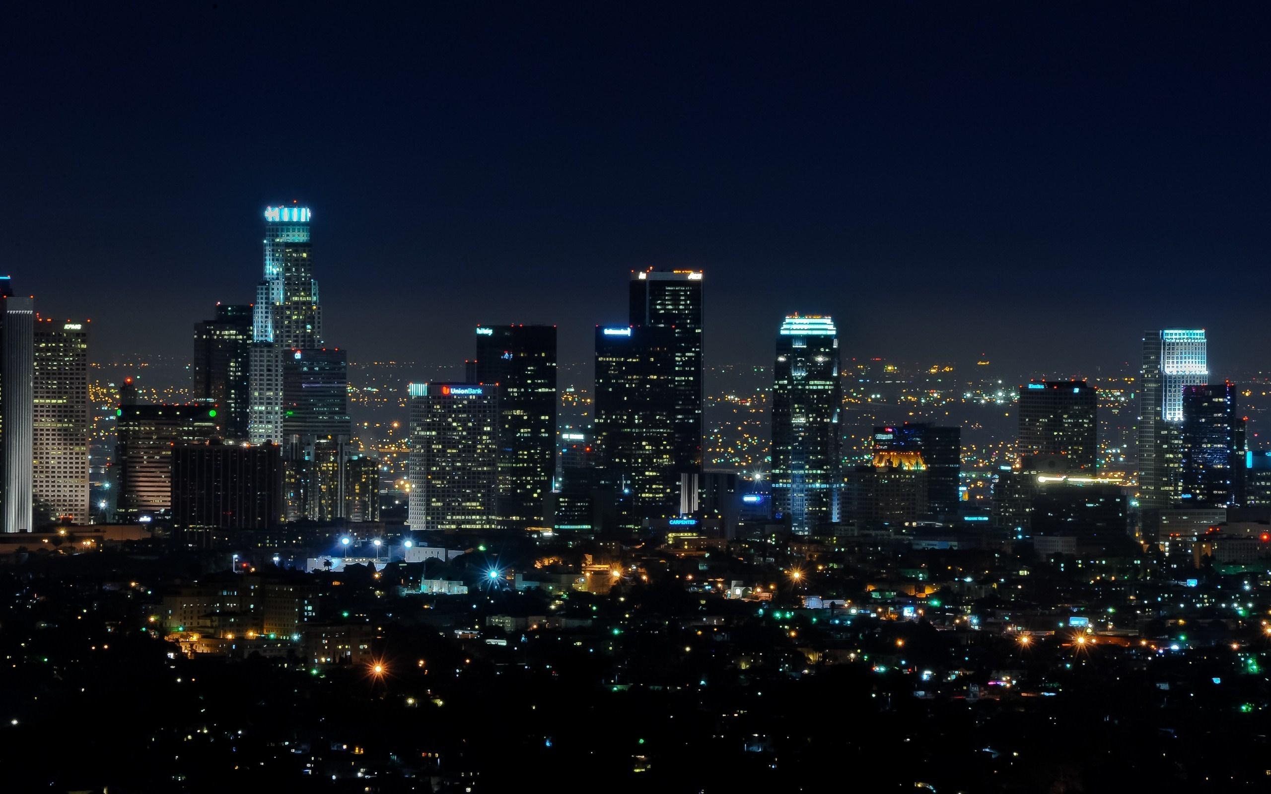 Downtown Los Angeles Wallpaper - WallpaperSafari