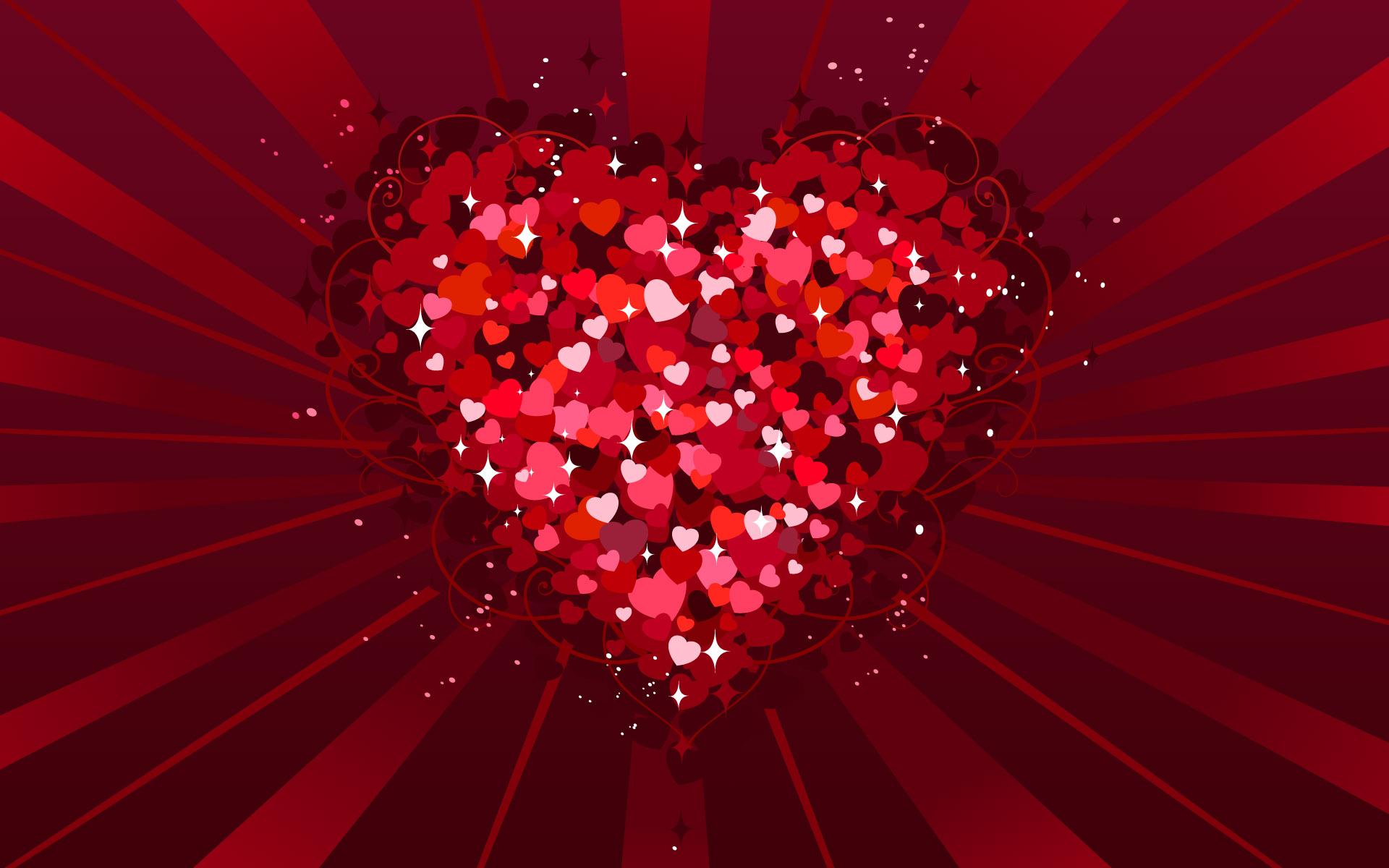 Valentine Hearts wallpaper   939052 1920x1200