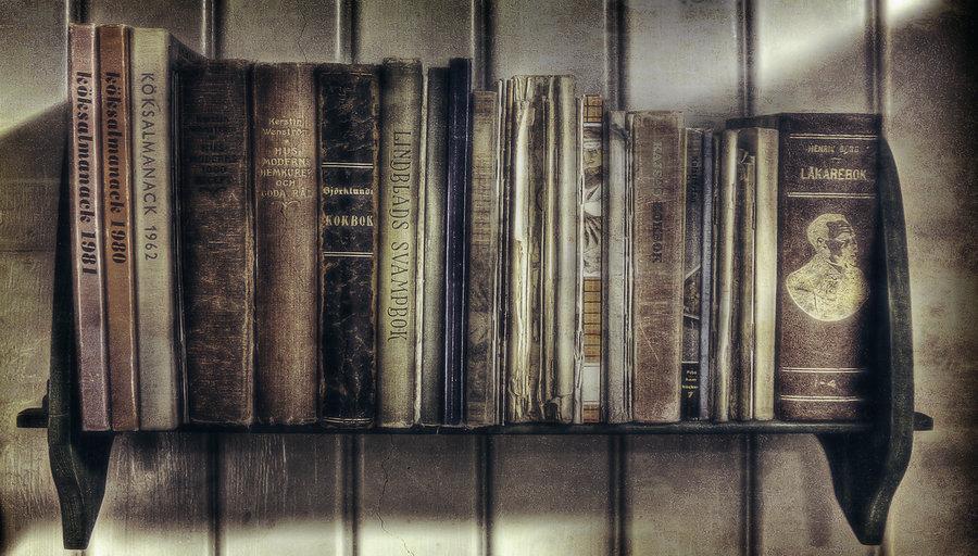 Ol Bookshelf   HD wallpaper by JanneO 900x512