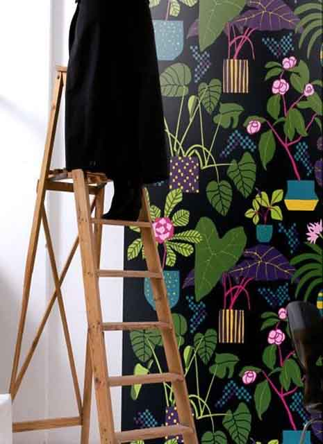 Marimekko Volume 04 Wallpaper Wall Panel 17992 Ikkunaprinssi By Sirpi 465x640