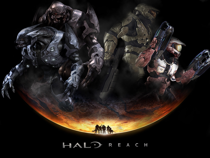 Epic Halo Wallpapers Halo reach wallpaper 800x600