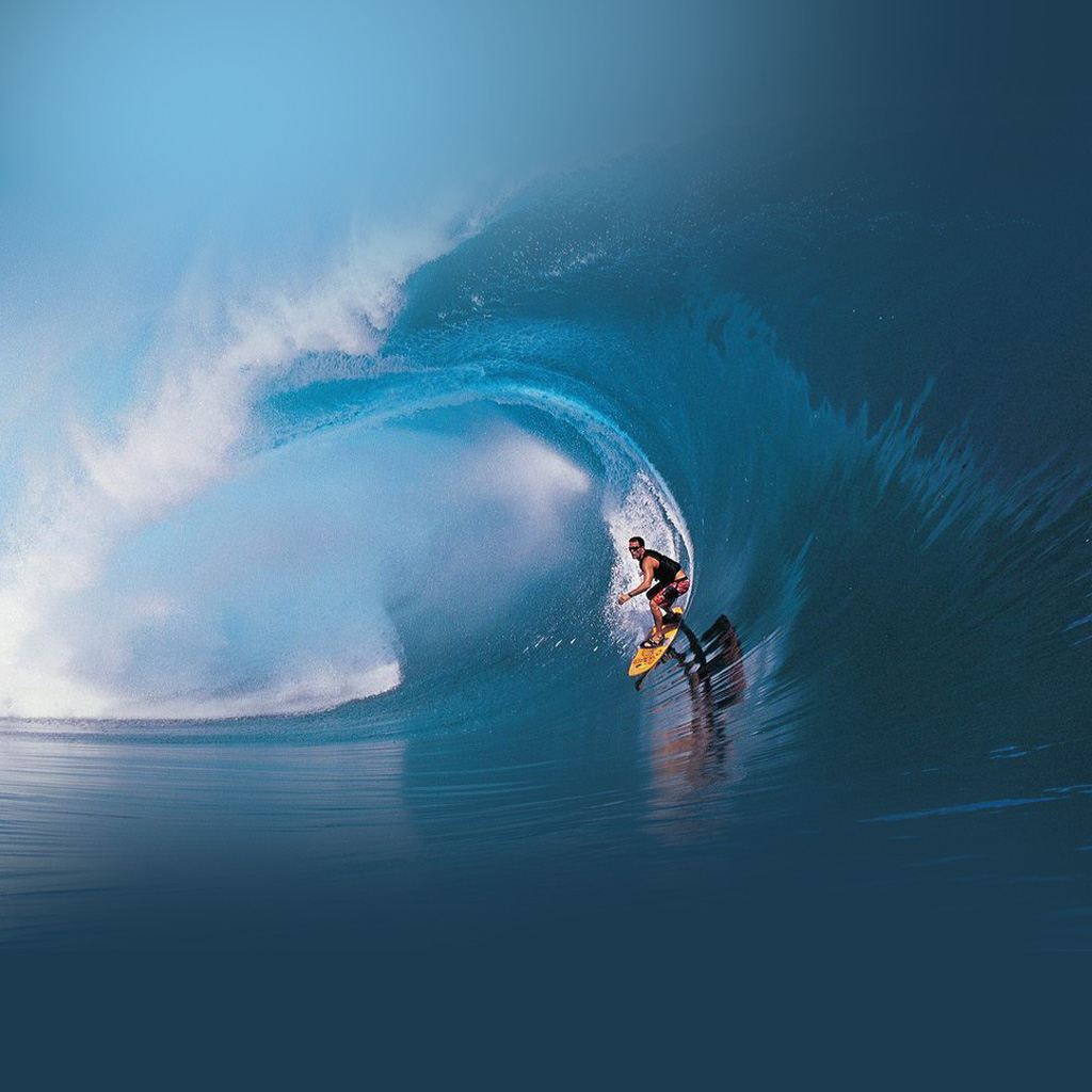 ipad desktop wallpaper screensaver apple background new surf the wave 1024x1024