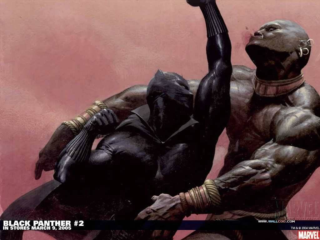 Black Panther 2 Marvel Comics   Marvel Wallpaper 1024x768