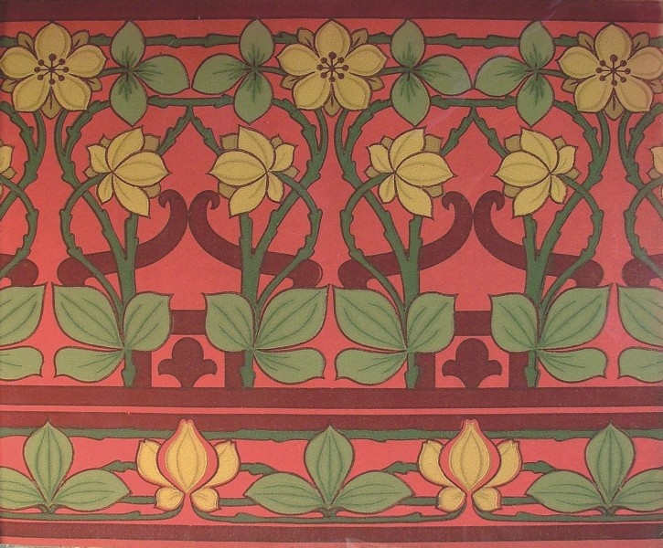 Briar Rose   Historic Wallpapers   Victorian Arts   Victorial Crafts 725x600