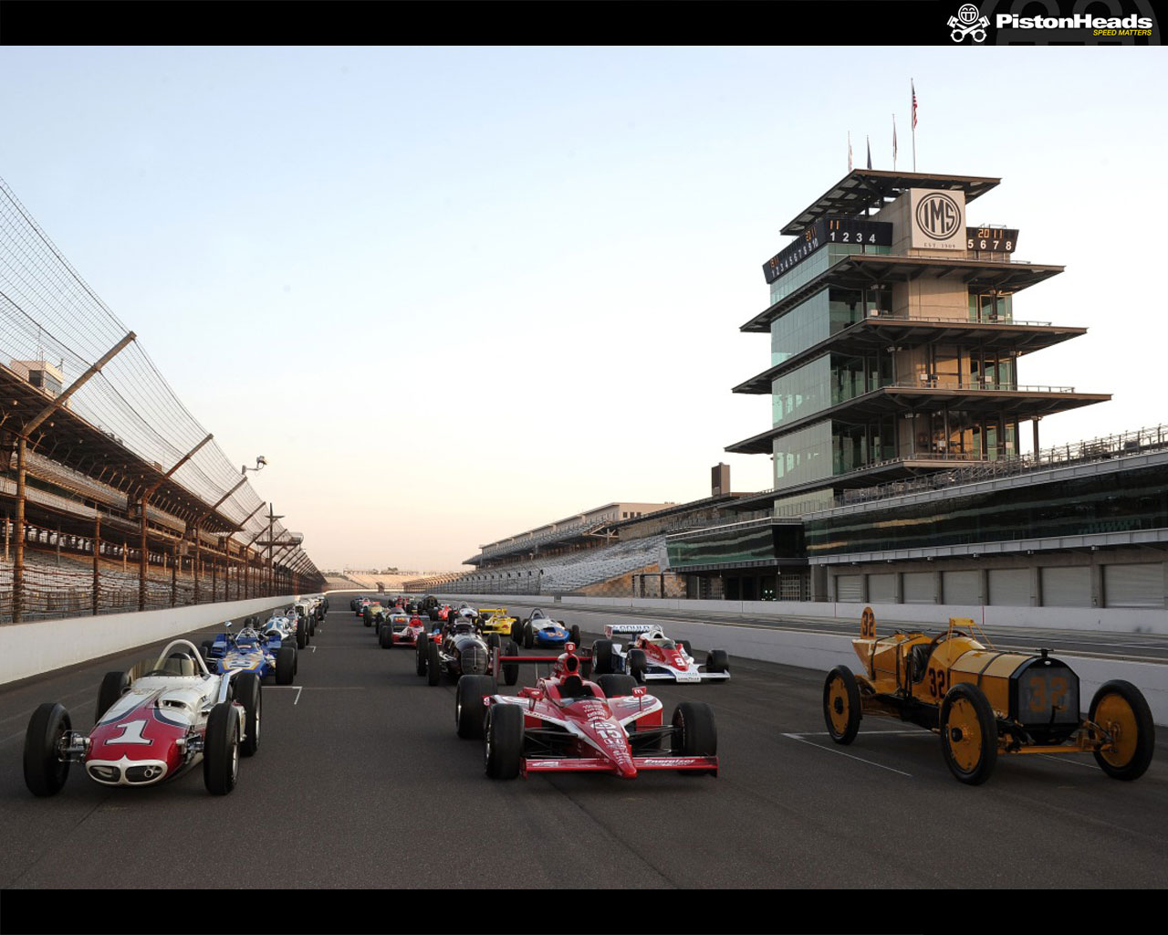 Pic Of The Week Indy 500 Historic Grid PistonHeads 1280x1024