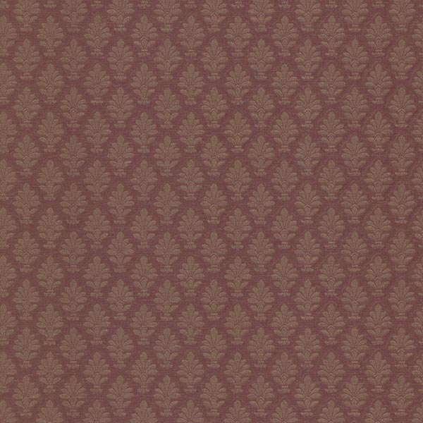 20807 Burgundy Fleur De Lis   Lowell   Brocade Wallpaper By Mirage 600x600