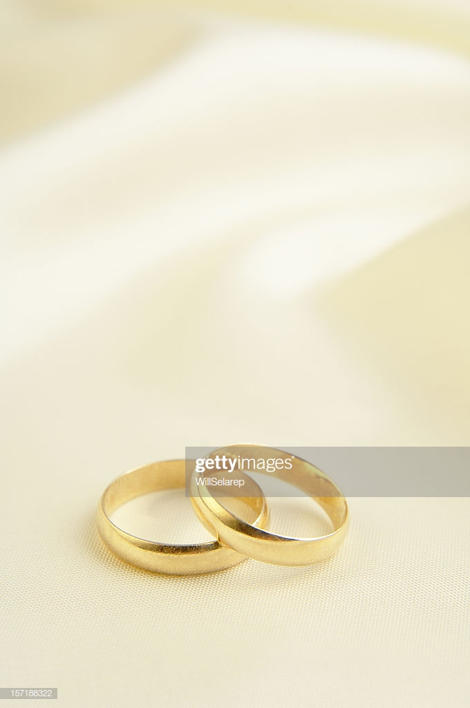 Two Rings In White Background Stock Photo   Getty Images 680x1024