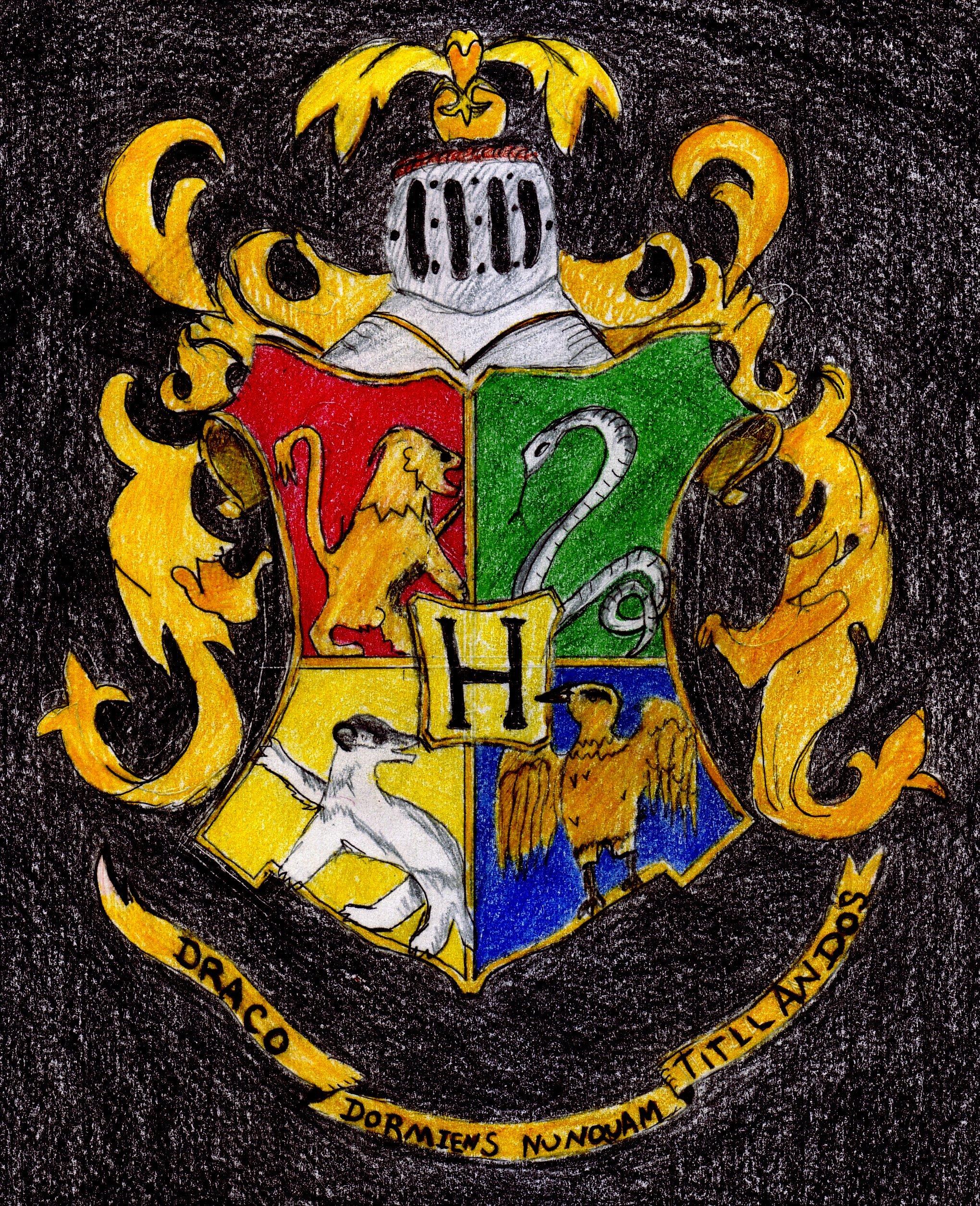 Harry Potter Hogwarts Crest Wallpaper Hogwarts crest by dar1989 2040x2508