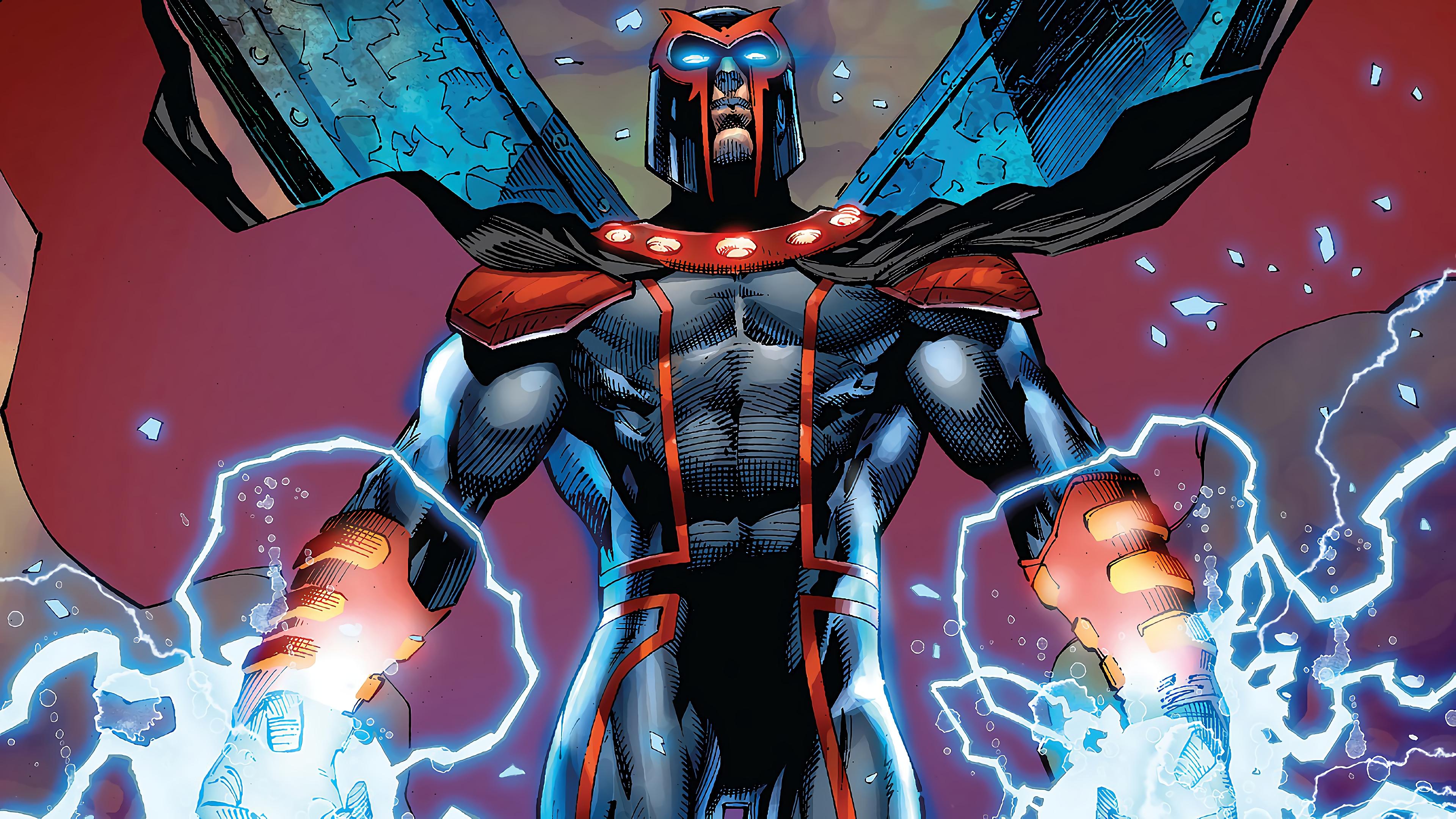 Magneto Marvel Comics 4K 4242 3840x2160