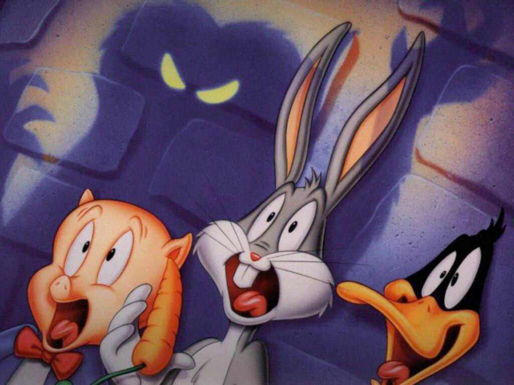 Bugs Bunny Daffy Duck et Porky Pig 1024x768