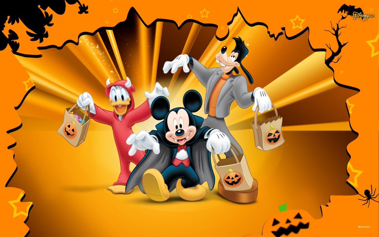 Disney Halloween   Sites Of Great Wallpapers Wallpaper 33253867 1280x800