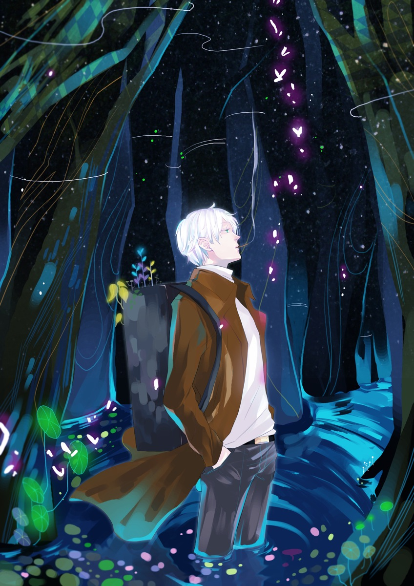 Mushishi Ginko by MissIfa 848x1200