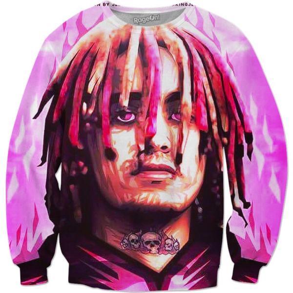 Lil pump art sweatshirt 600x600