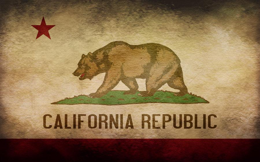 California Grunge Flag by yenemy1a 900x563