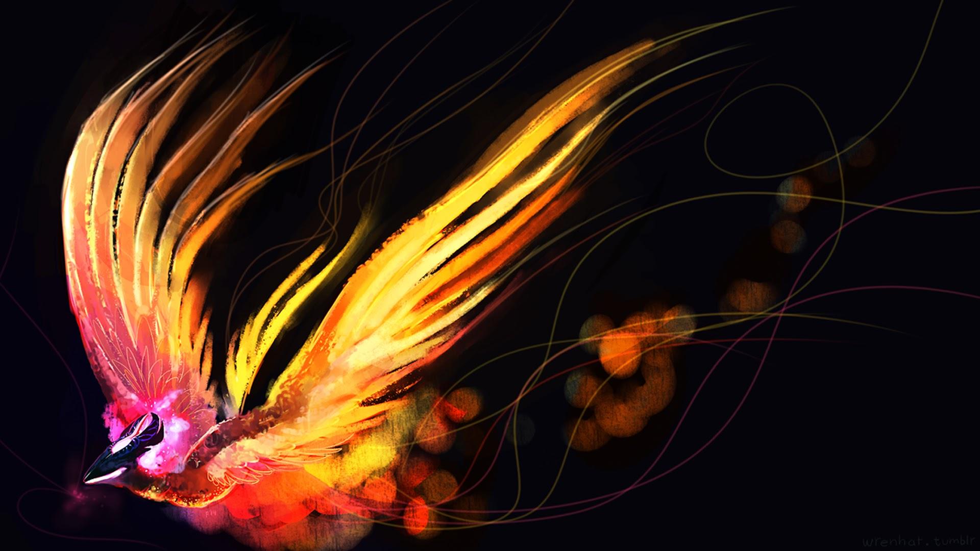 Phoenix Wallpaper HD - WallpaperSafari Fire And Ice Dragon Wallpaper